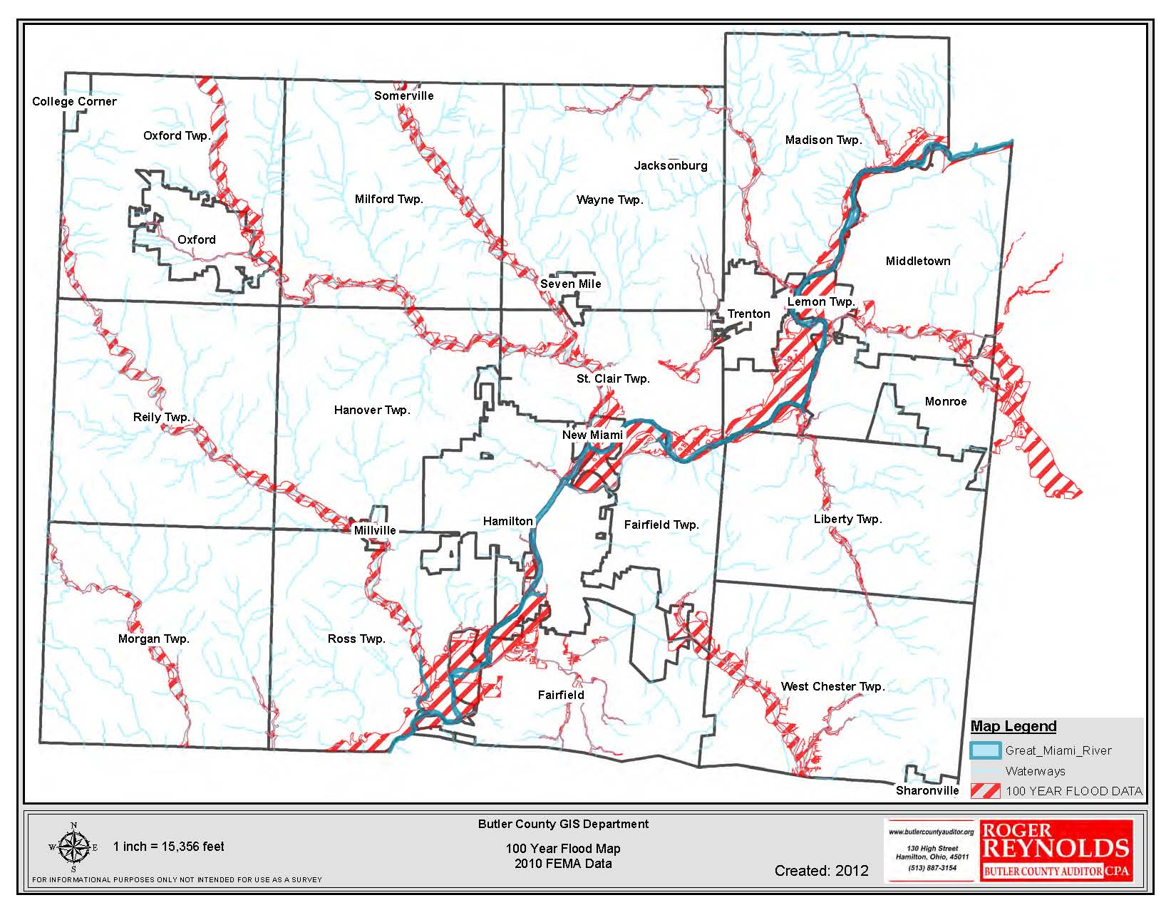 Picture of: Butler County Oh Departments Gis Maps Map Gallery